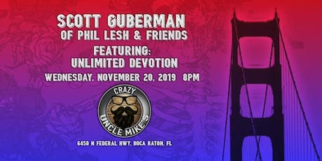 Scott Guberman of Phil Lesh and Friends Featuring UD tickets
