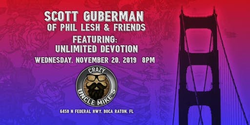 Scott Guberman of Phil Lesh and Friends Featuring UD