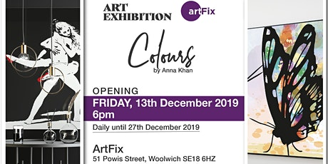 ArtFix Gallery presents exhibition Colours by Anna Khan tickets
