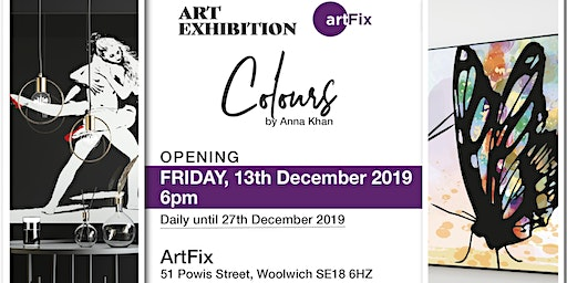 ArtFix Gallery presents exhibition Colours by Anna Khan