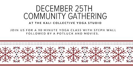 December 25th Yoga Class tickets