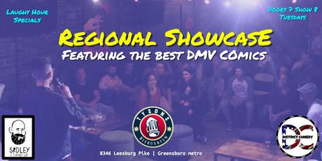 Tysons Comedy Regional Showcase tickets