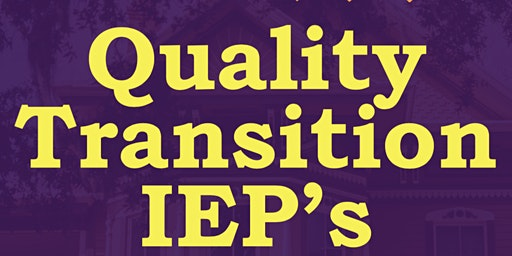 Writing Quality Transition IEP's #3