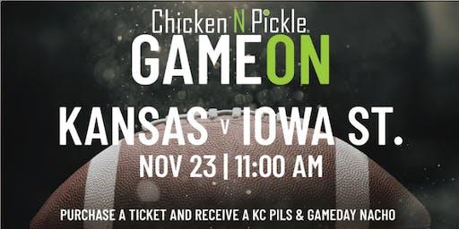 Kansas V Iowa State