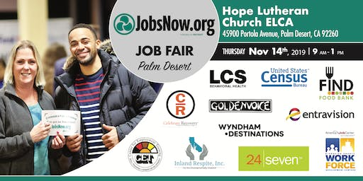 Palm Desert Job Fair