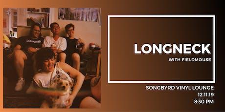 Longneck at Songbyrd Vinyl Lounge tickets