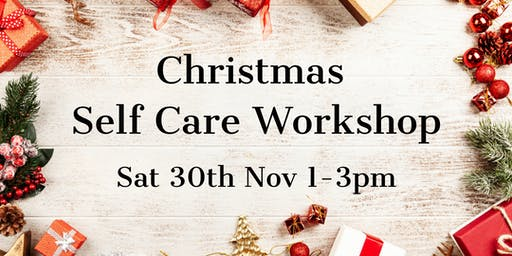 Christmas Self Care Workshop