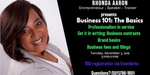 Business 101: The Basics