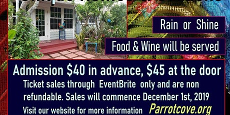 Parrot Cove Home Tour 2020 tickets