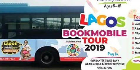 Lagos BookMobile Tour 2019 is designed for 100 children ages 5-15 years