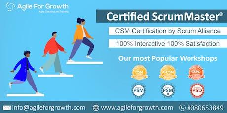 Certified ScrumMaster Training by Kamlesh Ravlani, CST tickets