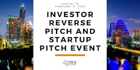 Austin: TEN Capital Investor Reverse Pitch & Startup Pitch tickets