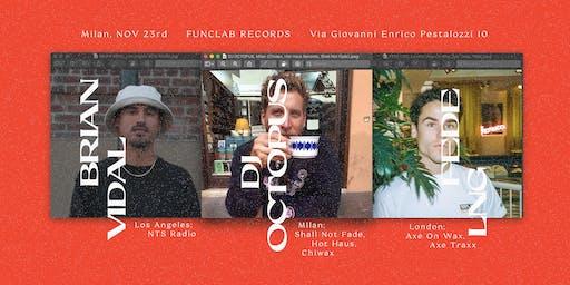 Funclab Rec. with Dj Octopus / Fede Lng / Brian Vidal