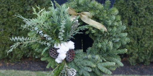 All I Want For Christmas is an Evergreen Wreath with Williams-Sonoma