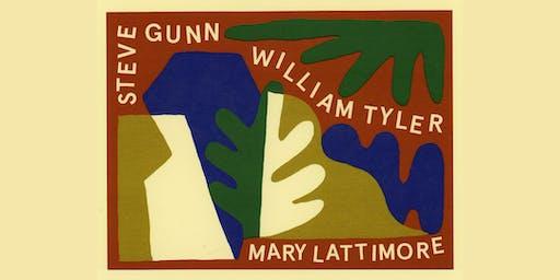 William Tyler + Steve Gunn + Mary Lattimore