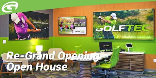 GOLFTEC Knoxville Re-Grand Opening Open House
