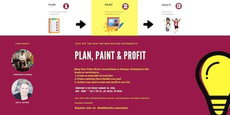 Plan, Paint & Profit tickets