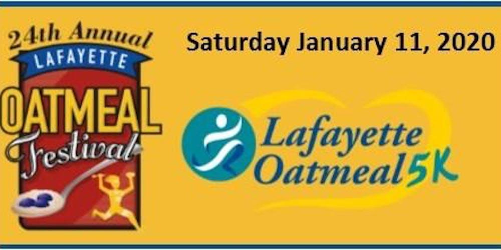 Lafayette Apple Festival 2020.24th Annual Lafayette Oatmeal Festival And 5k Run