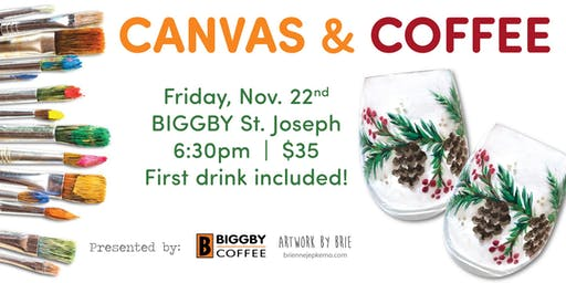 Coffee & Canvas - Garland Glasses