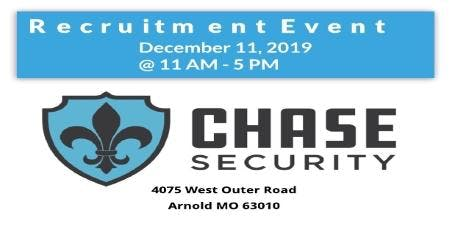 Chase Security Recruitment Event
