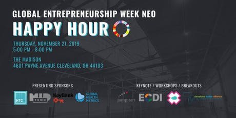 The Cleveland Health-Tech Corridor Global Entrepreneurship Week happy hour tickets
