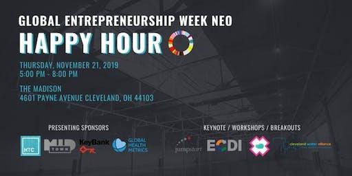 The Cleveland Health-Tech Corridor Global Entrepreneurship Week happy hour