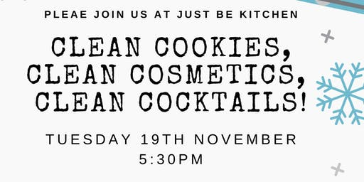 Clean Cookie Decorating PLUS Clean Cosmetics & Clean Cocktails!