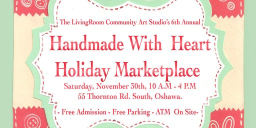 The LivingRoom's Handmade With Heart Marketplace