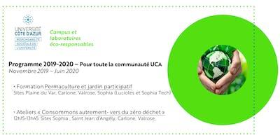 Programme mission campus UCA éco-responsable - 2019-2020