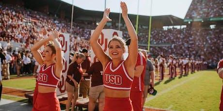 USD Cheerleading Tryouts tickets