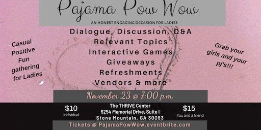 Pajama Pow Wow November 23, 2019