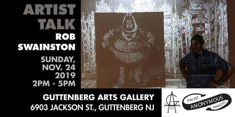 Artist Talk w/ Rob Swainston tickets