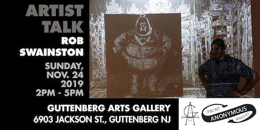 Artist Talk w/ Rob Swainston