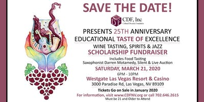 Wines of the World and Gourmet Food Tasting: CDF's 25th Scholarship Benefit