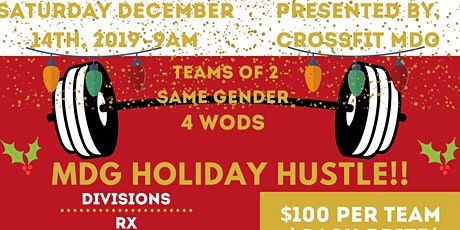 MDG Holiday Hustle tickets