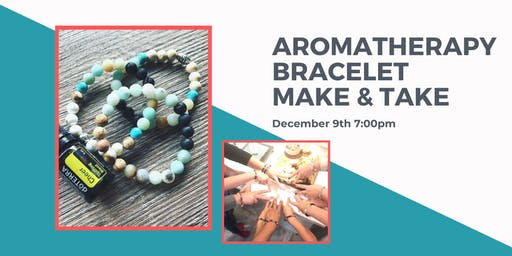 Aromatherapy Bracelet Workshop