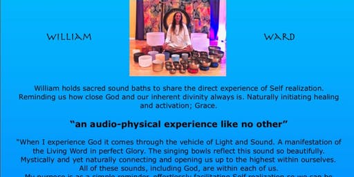 Sacred Sound Bath with William Ward