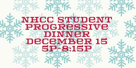 NHCC Student Progressive Dinner tickets