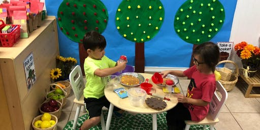 Open House for Two, Three and Four Year Olds
