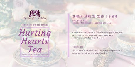 Austin Tyler Foundation 4th Annual Hurting Hearts Tea tickets