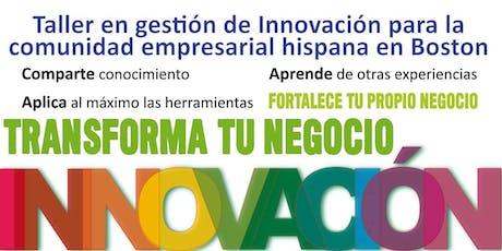 Invitation to second sesion of Innovation workshop for Hispanic Businesses and Entrepreneurships ingressos