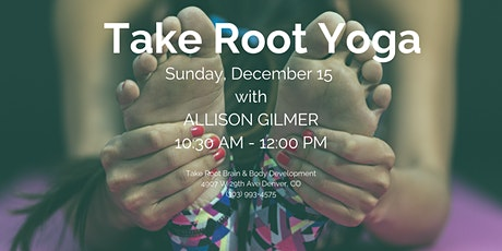 Take Root Yoga Sunday tickets