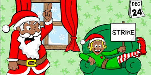 Santa & the Terrible, Horrible, No Good, Very Bad Day..A Christmas Showcase