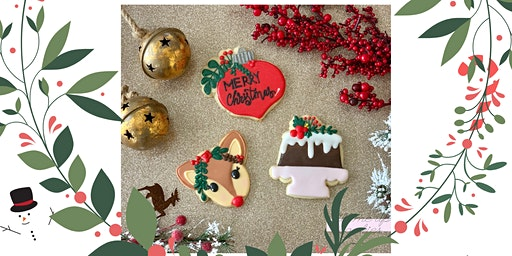 Christmas Floral Cookie Decorating Class