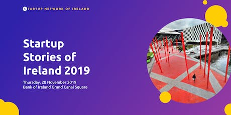 Startup Stories of Ireland 2019 tickets
