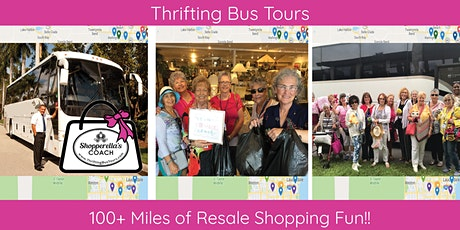 100+ Miles Thrift-A-Thon Leaving Jupiter & West Palm Shopping the Goldcoast tickets