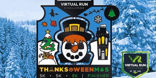 2019 - Thanks-Oween-Mas Virtual 5k Challenge - San Jose