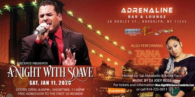 A Night With Freestyle Artist Soave Performing His Hits