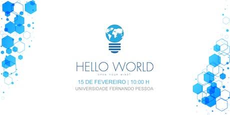 Hello World Conf 2020 bilhetes