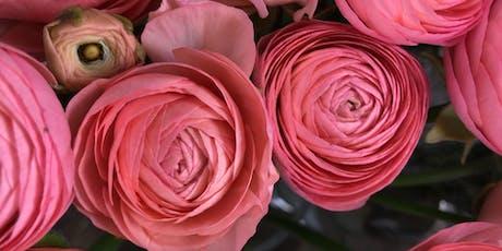 Ravishing Ranunculus tickets